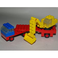 649 - Low Loader with Excavator